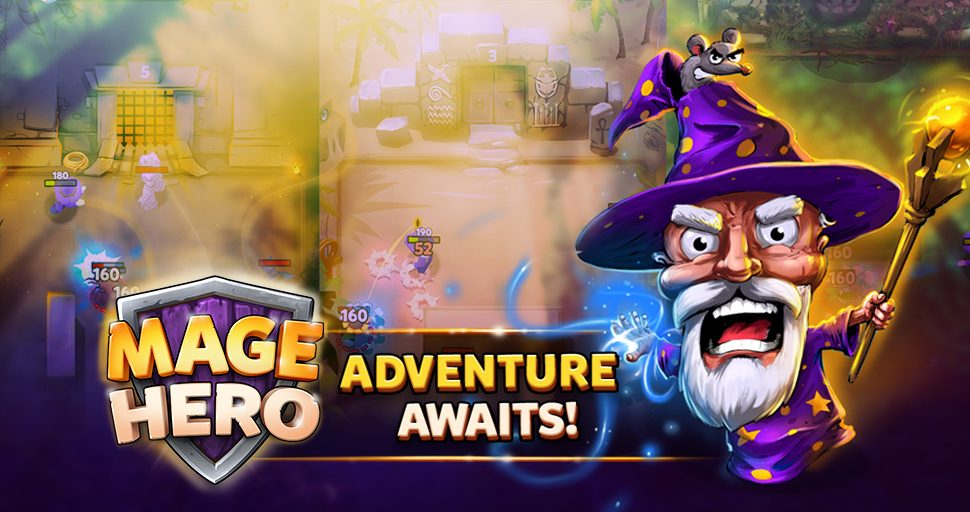MAGE HERO our NEW ARPG game!