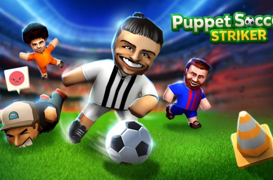 Upcoming Puppet Soccer Striker !